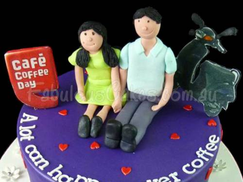 Cafe Coffee Day Cake