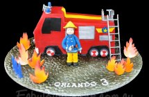 Fireman Sam Cakes