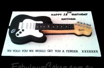 Musical Instrument Themed Cakes