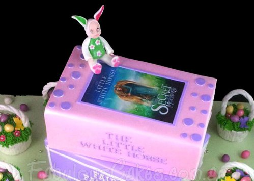 Story Books and Easter Theme Cake