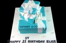 Tiffany & Co Cakes