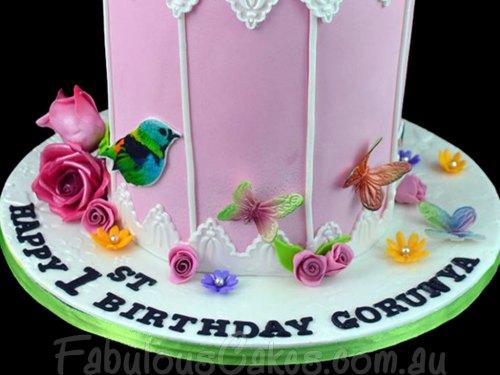 Bird Cage Cake