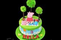 Peppa Pig Cakes