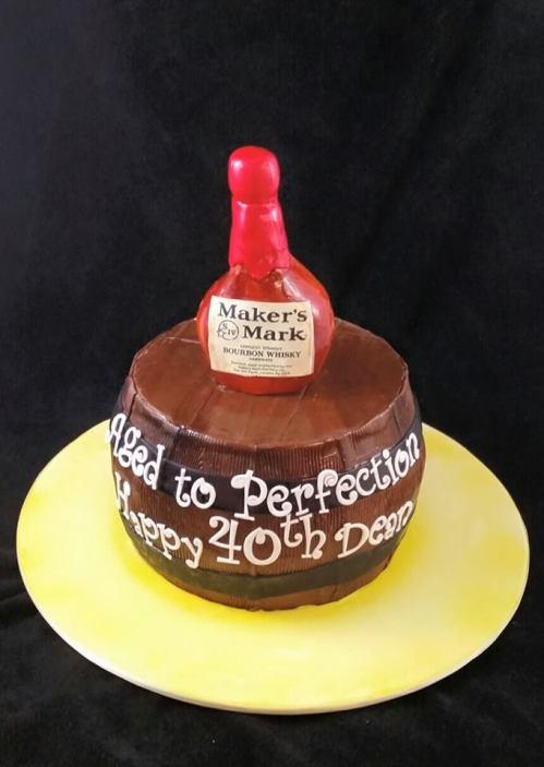 40th Birthday Cake 1