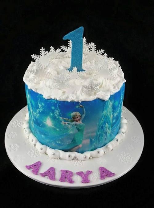 Frozen Theme Cake 3