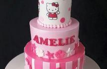 Hello Kitty Cakes