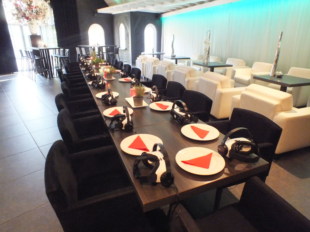Virtual Reality dinner