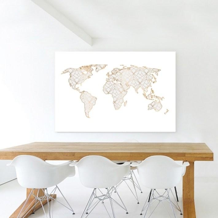 Wereldkaart canvas kopen canvascompany winactie Winactie: Wereldkaart op Canvas