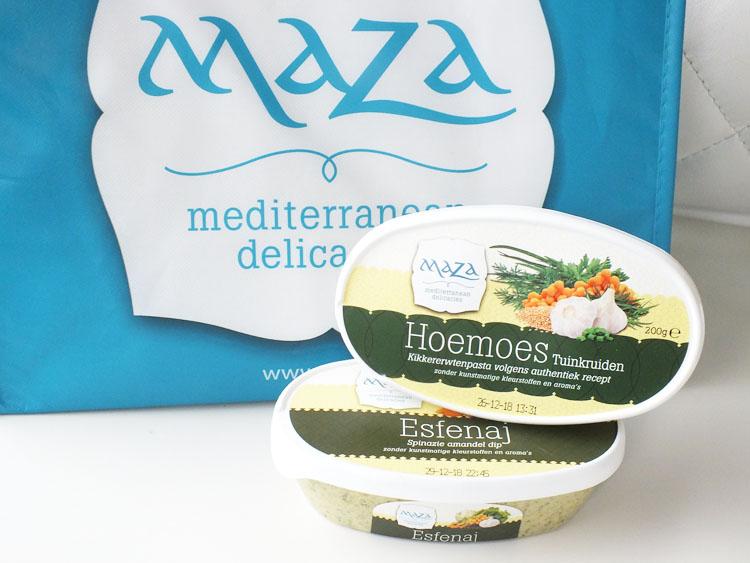 Review Margriet Winterfair 2018 Maza Hummus Tuinkruiden Spinazie