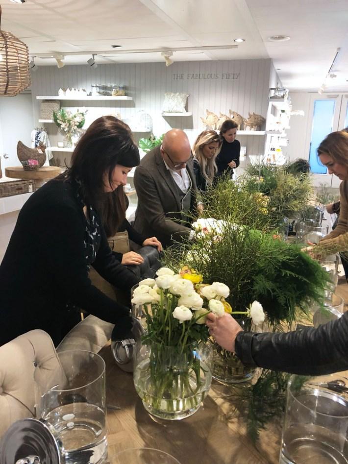 bloemschikken Nico Tijsen