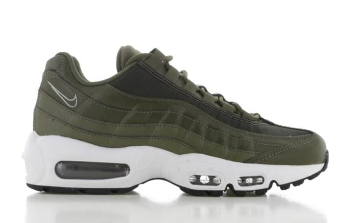 Unieke sneaker Nike air max AM95 sneaker legergroen