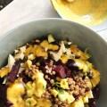 Recept: linzen salade met rode biet en feta ijsbergsla mosterd de bijzaak