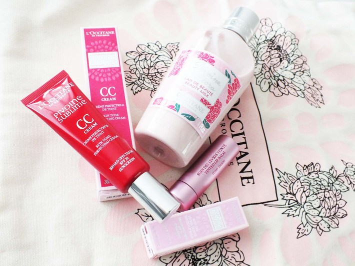 review L'Occitane Pivoine lijn Rozen Sublime- en Flora producten