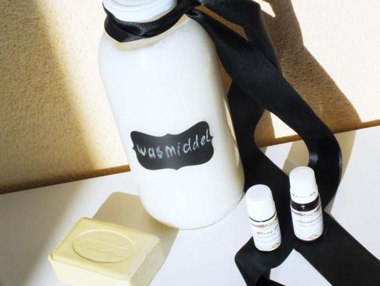 DIY Zelf wasmiddel maken zeep