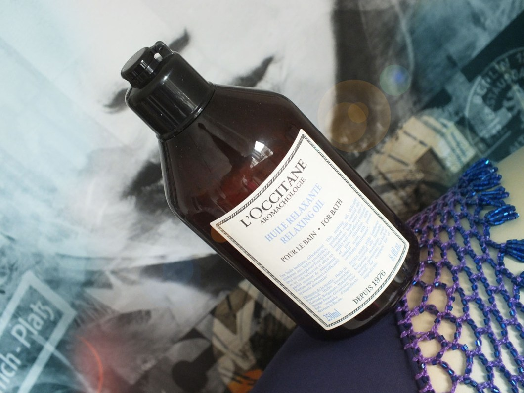 Review: L'Occitane Aromachologie Relaxing Bath Oil
