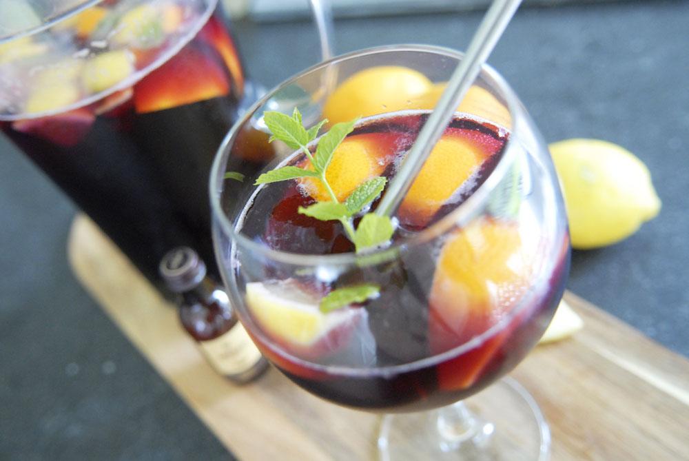 Recept sangria abuelo rum ginger ale