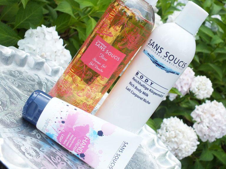 Review: Sans Soucis zomer producten rose shower gel handcreme bodylotion