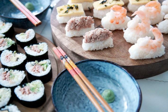 Recept: Zelf Sushi maken maki nigiri