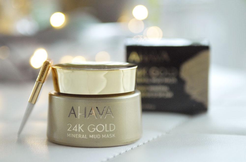Getest Ahava 24K gold masker mud mask getest ervaring