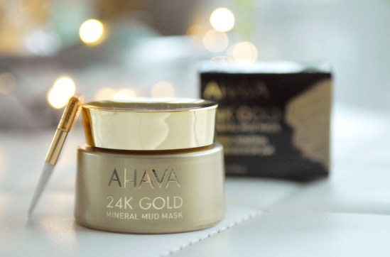 Getest Ahava 24K gold masker mud mask getest ervaring