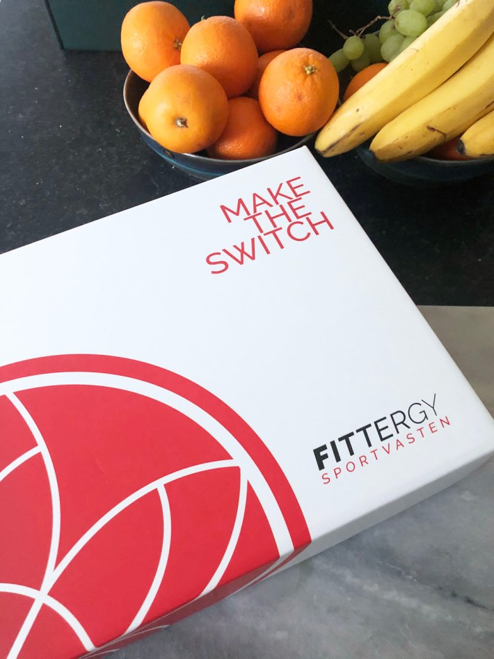 Make the switch – Sportvasten met Fittergy
