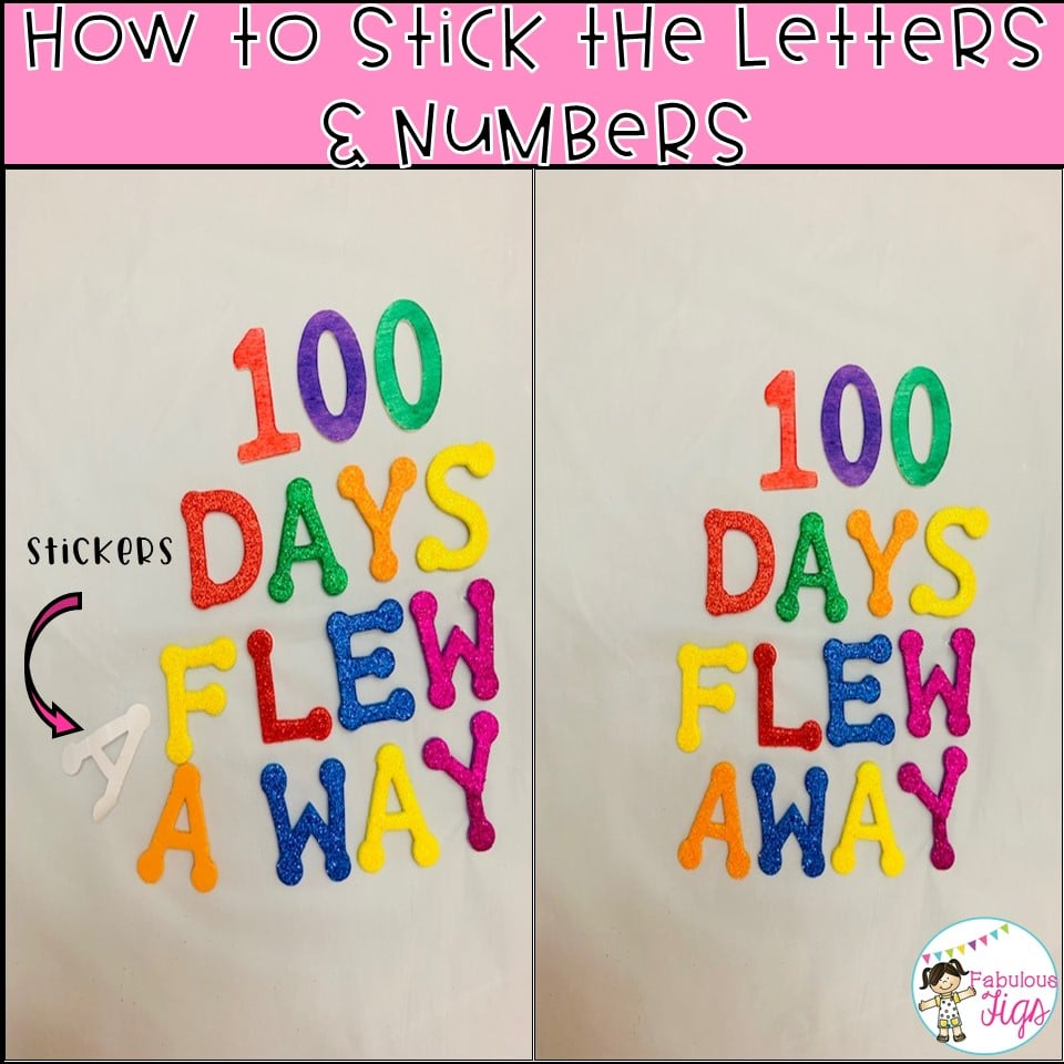100 Days of school flew away