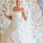 Picture perfect bride -making memories