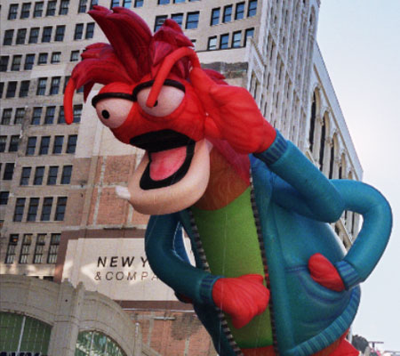 Pepe The King Prawn Parade Balloon Fabulous Inflatables The Muppets
