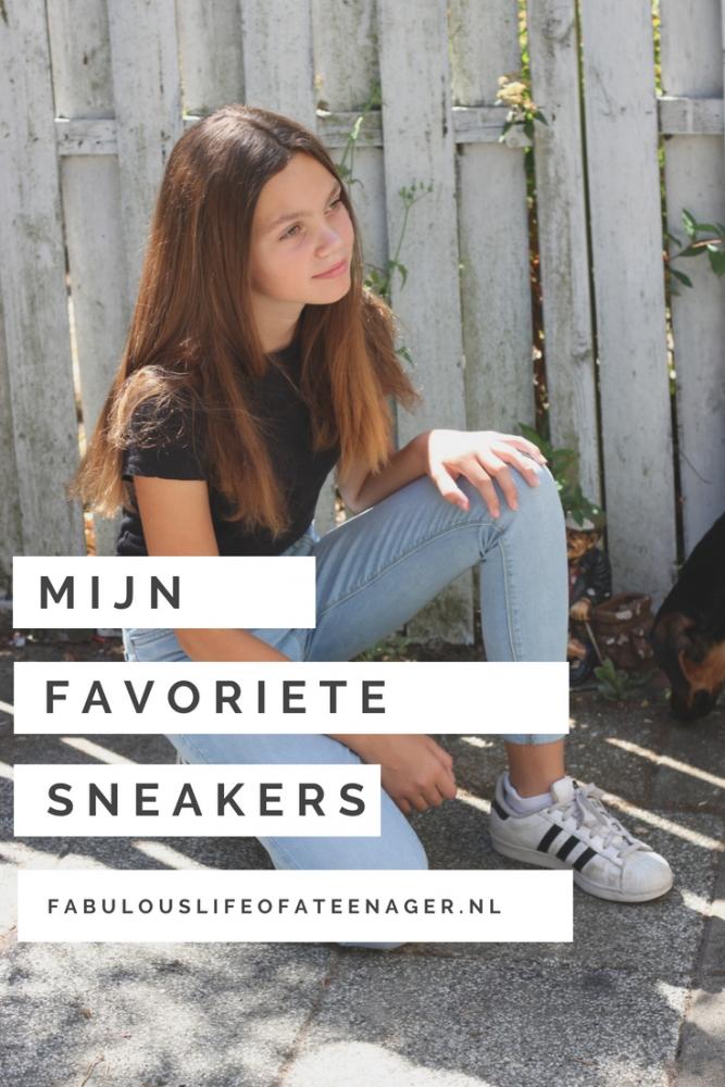 Mijn favoriete sneakers - de leukste sneakers voor tieners