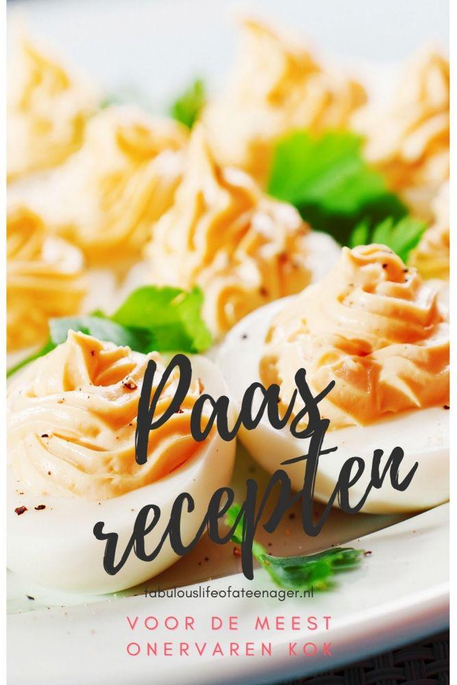 Makkelijke paasrecepten voor de onervaren kok