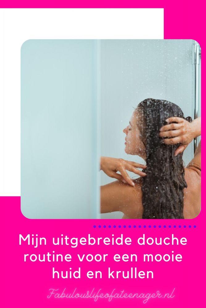 Mijn uitgebreide douche routine voor een mooie huid en krullen