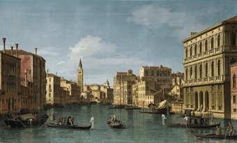 Canaletto -The Grand Canal, Venice