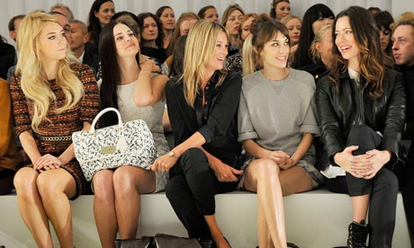 You may not have Alexa Chung next to you but you may pick up some style ideas?