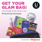 U By Kotex Glam Bag Sweeps