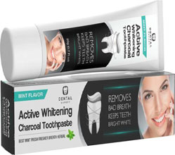 charcoal toothpaste