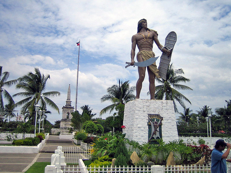 Image result for lapu lapu statue  in cebu