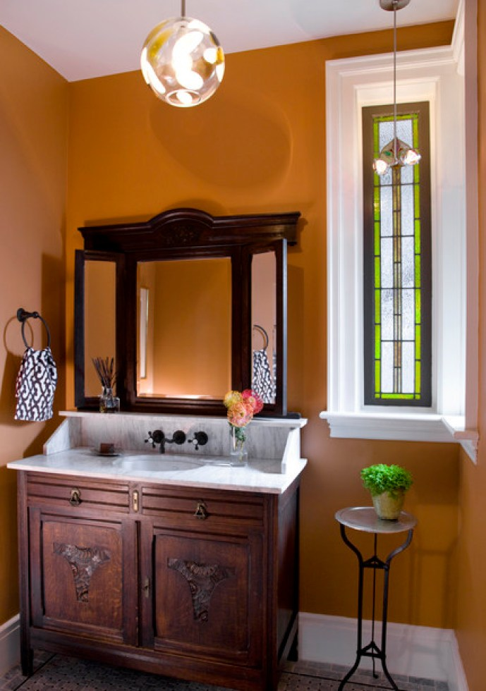 Vintage Bathroom Design Ideas For Small Spaces Interior
