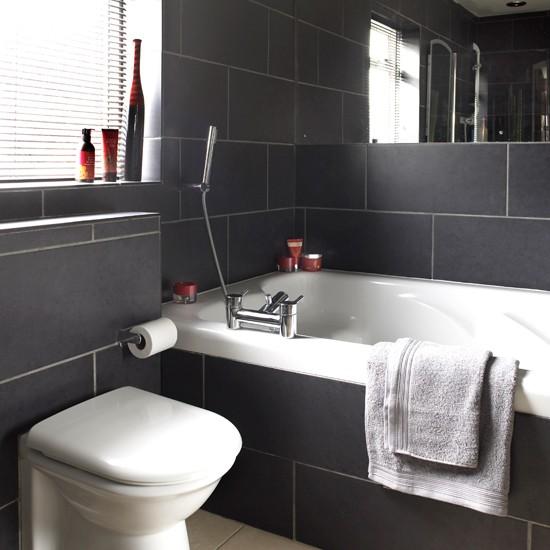 Monochromatic Small Bathrooms Designs