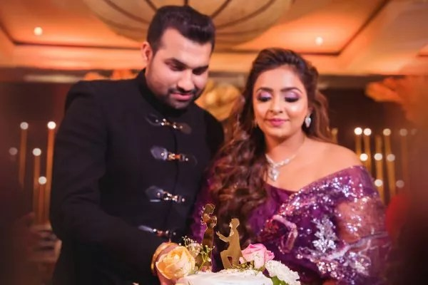 Yesha and rajan sangeet