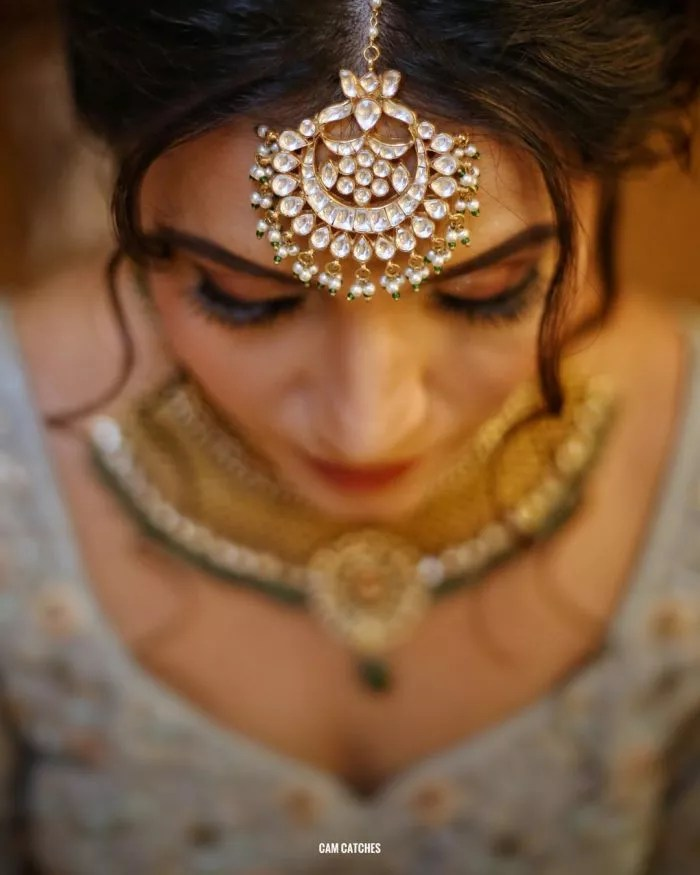 20+ Maang Tikka Ideas For The Millennial Bride! - FabWeddings.in