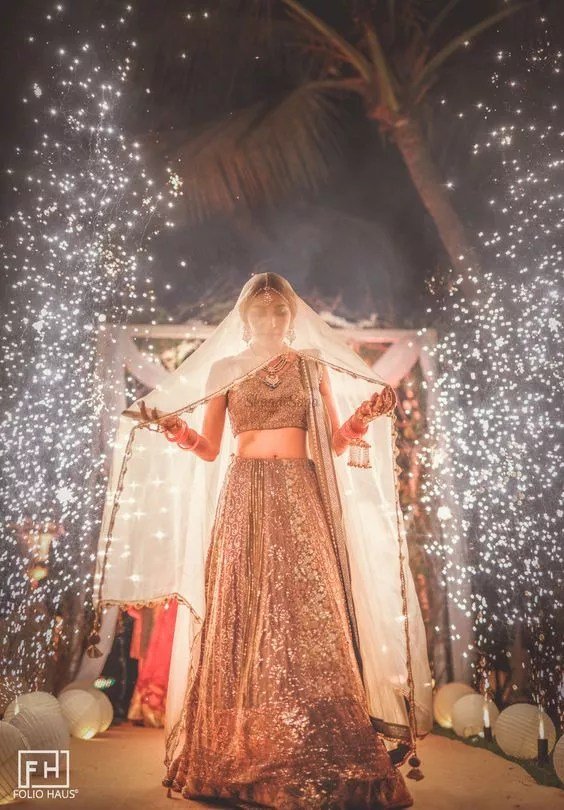 Bridal Lehenga-FabWeddings