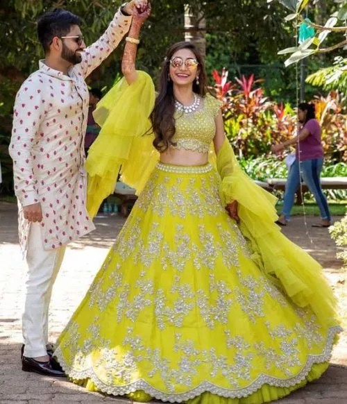 Neon Lehengas- FabWeddings