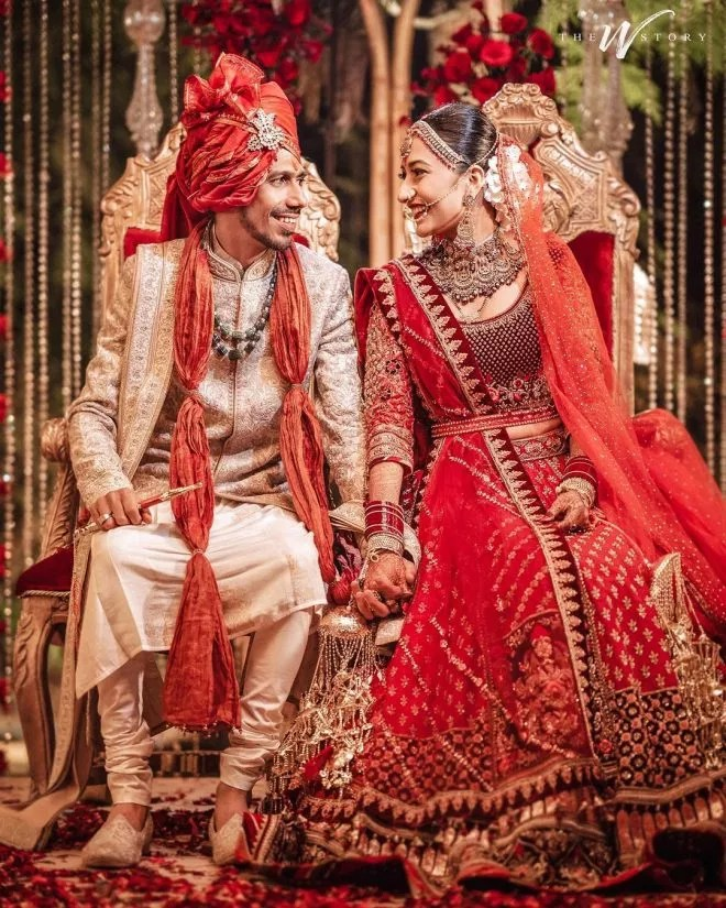Wedding pictures of Yuzvendra Chahal & Dhanashree Verma