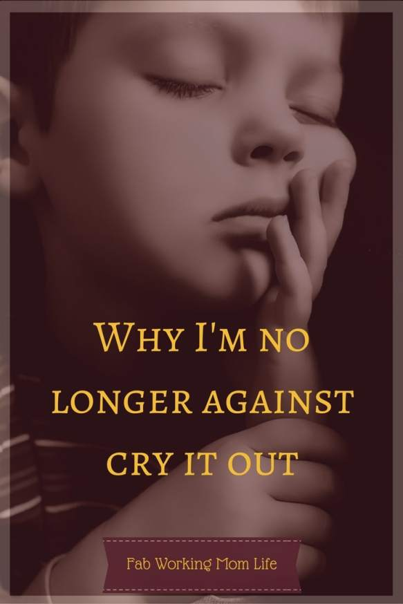 Why I'm no longer against cry it out