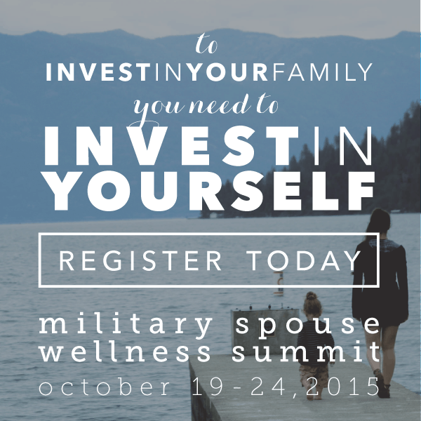 Military Spouse Wellness Summit #MSWS15