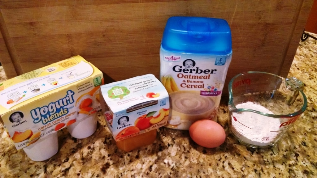 how to make pancakes with baby cereal