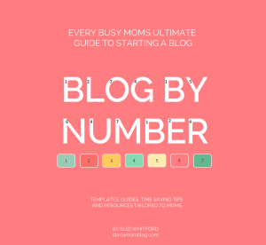 Blog by Number – an ebook made JUST for bloggers who are moms!