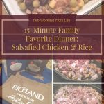 15-Minute Family Favorite Dinner: Salsafied Chicken and Rice