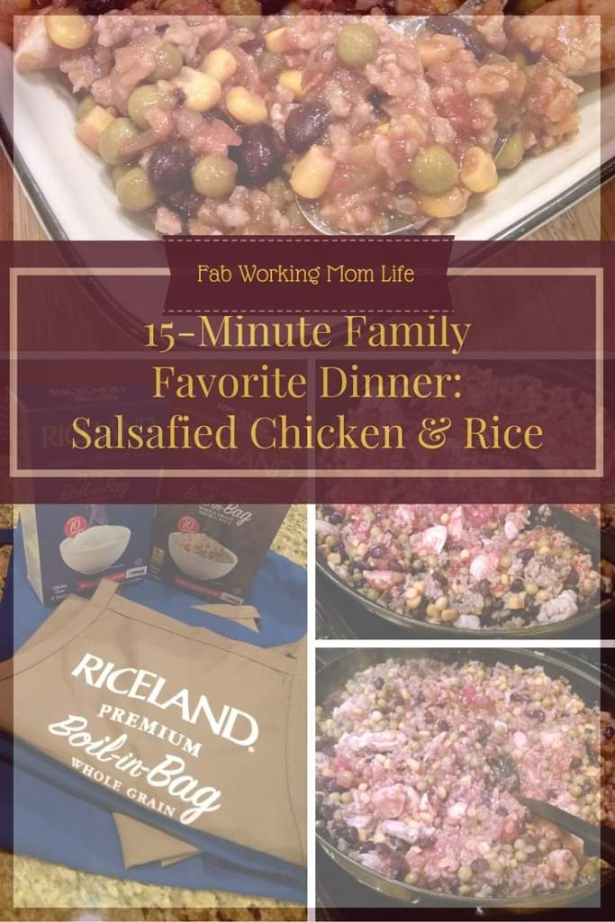 Riceland Boil-in-Bag Recipe Salsafied Chicken and Rice