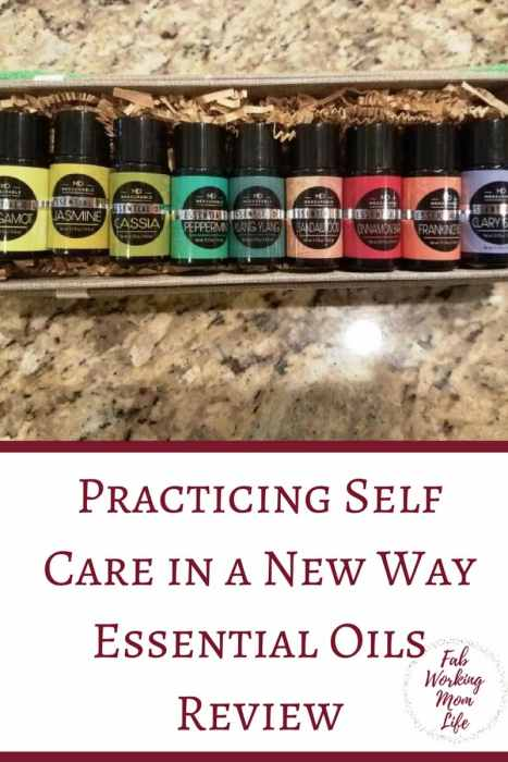 Practicing Self Care in a New Way, an Essential Oils Review